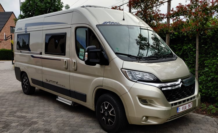 Possl summit 600 plus – Discover with this blissful motorhome!