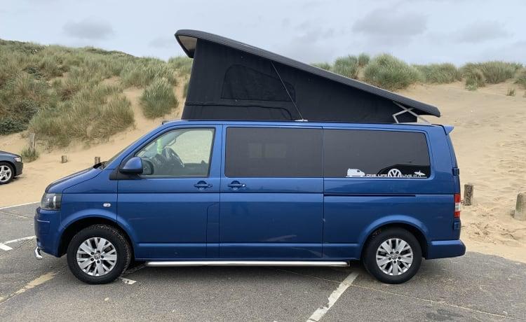 Blu – Blu T5.1 Highline 140 VW Camper furgonato a noleggio