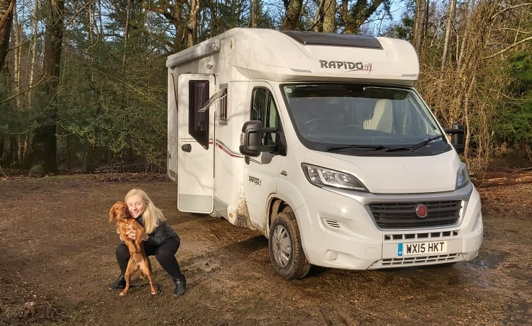 Raymondo  – 5 Berth Fiat Rapido high spec