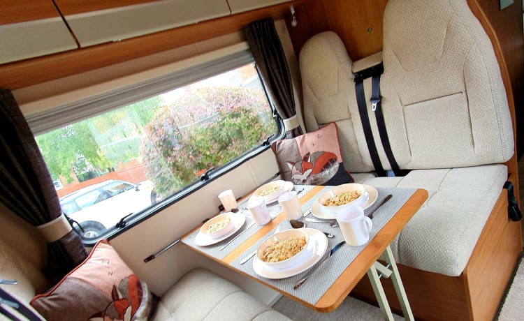 Autotrail Tribute T 736 – 6 Berth, fully equipped, all inclusive price with NO hidden charges!