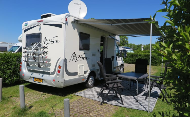 Luxury Mc Louis Camper 2x air conditioning (6-person)