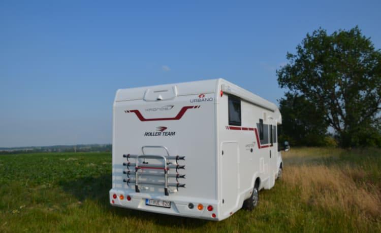 Nieuwe roller team kronos 284 TL van 05/2020