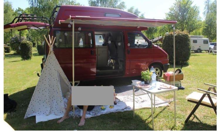 avontuur wacht met onze mooie klassieke VW Westfalia camper