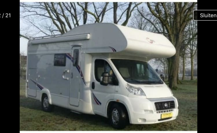 Beautiful and spacious family camper