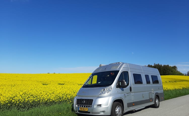 Boontje – Our comfortable complete 2nd home, Karmann Mobil Davis 620 Automatic.