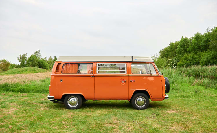 Bus Parijs – Volkswagen T2b, 1974