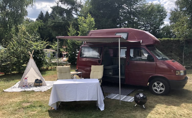 adventure awaits with our beautiful classic VW Westfalia camper