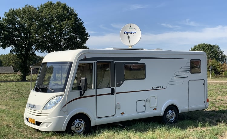 Luxe Hymer Integraal Camper