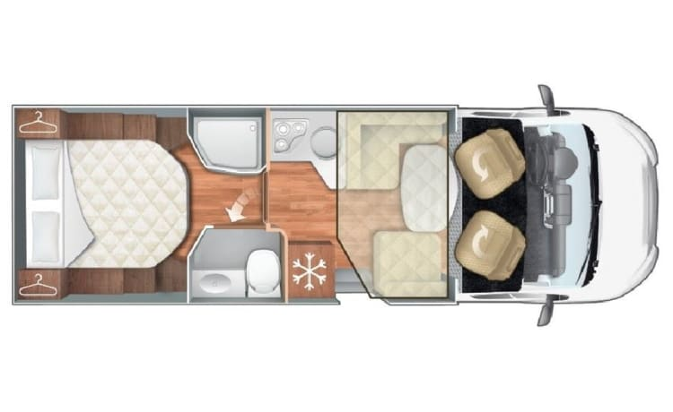 28 - RT Kronos 265TL, twin beds, with FREE All-Inclusive inventory