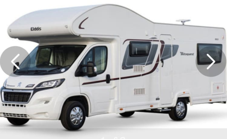 6 Berth Motorhome Worcestershire