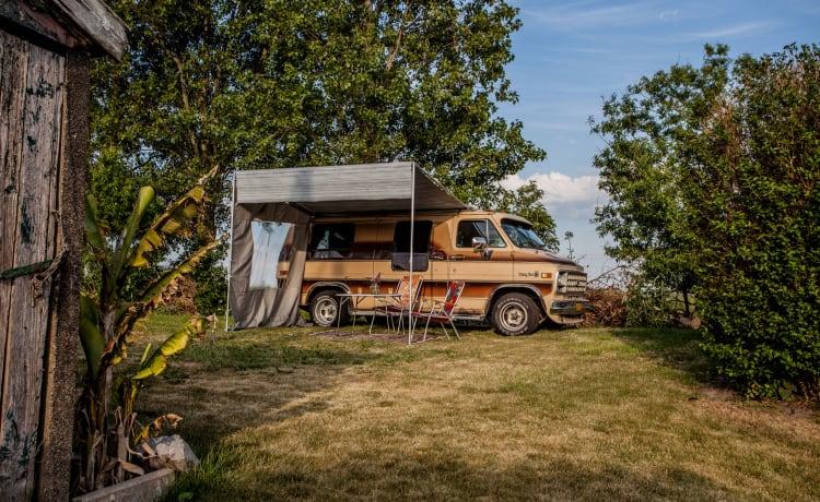 American Cowboy Chevrolet Camper Van
