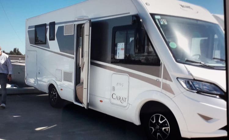 New luxury mobile home Mclouis carat