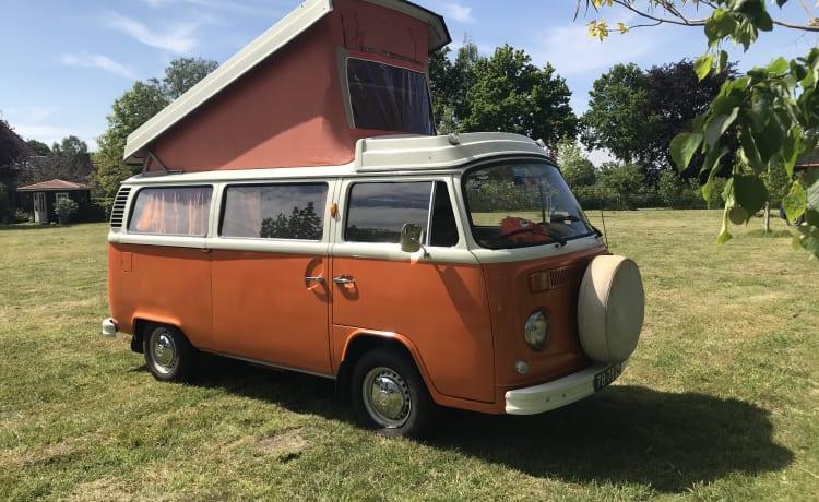 Willem – Volkswagen bus T2 - welkom in de jaren 70