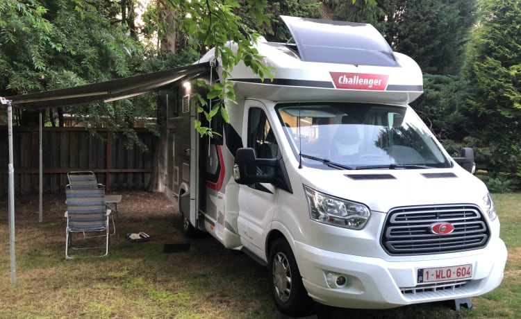 Challenger 260 – New spacious mobile home. 4p Challenger
