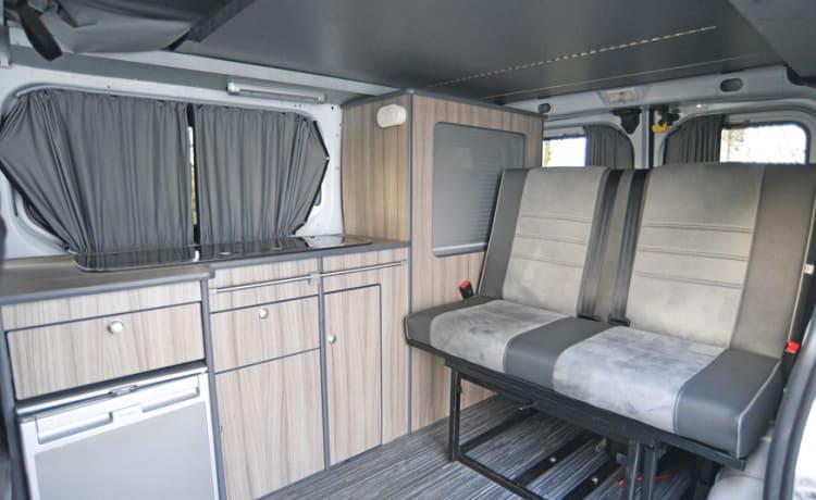 Lady Ga Gas – Lady Ga-Gas - Renault Trafic - 4 slaapplaatsen - Reizen 5