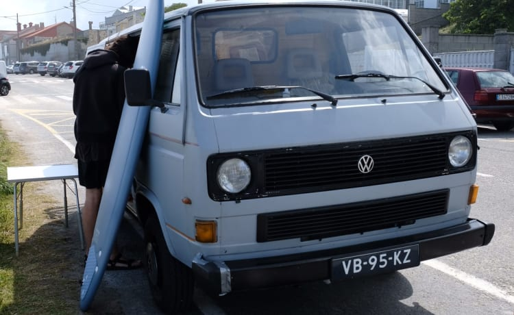 Rusty – Volkswagen T3 for adventurers