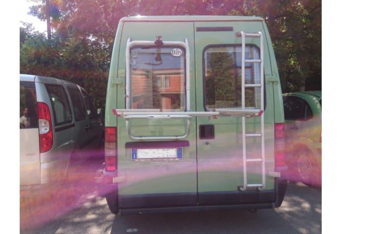 La furgoneta – kan niet wachten om te vertrekken! romantiek, eenvoud, autonomie. Wild & compact