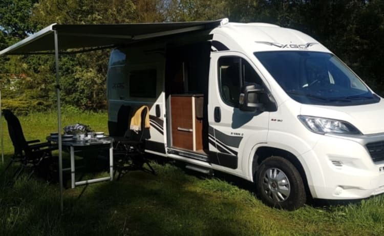 Luxury Bus camper bj 2019 fully self-sufficient with toilet and shower