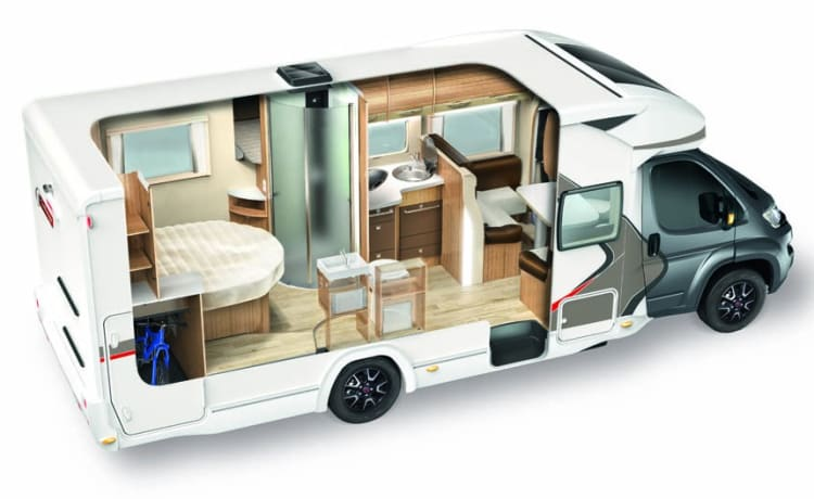 COZY CHAUSSON 628eb to 4/5 pers.