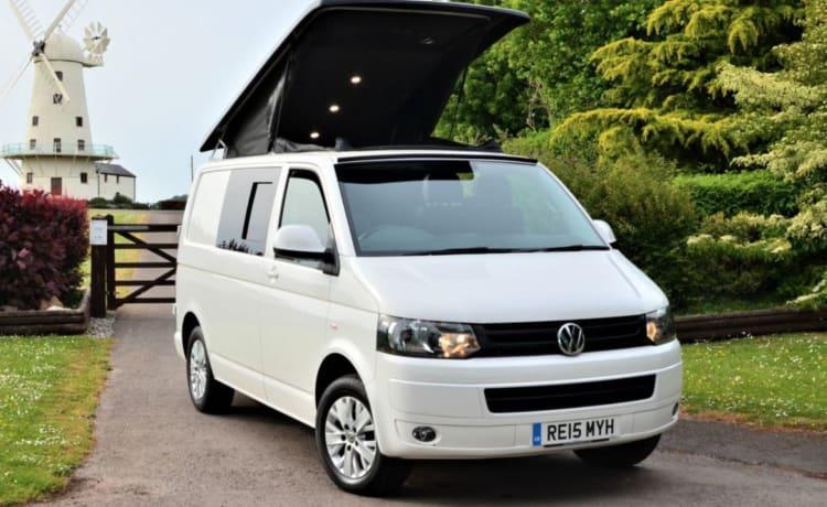 Luxury VW Campervan in Wales