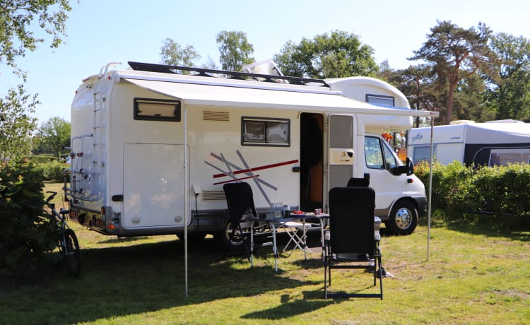 Delicious, spacious family camper for an ideal camper trip!