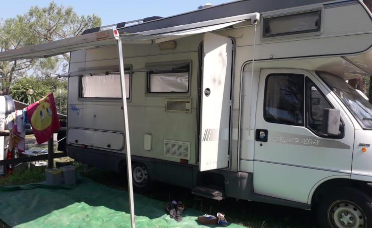 Zolder camperhuur voor 6 personen