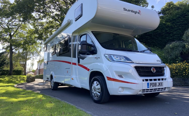 2018 sunlight a72 6 berth