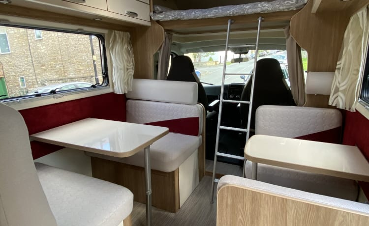 2019 - luxury 6/7 berth motorhome