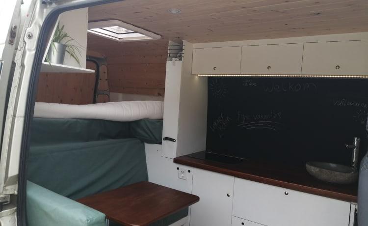 Self-build offgrid camper