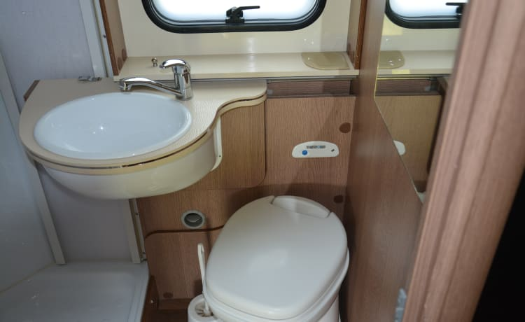 Spacious family motorhome