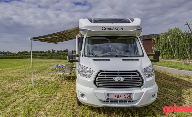 New Chausson Titanium 708 (2020) on Ford 170 hp