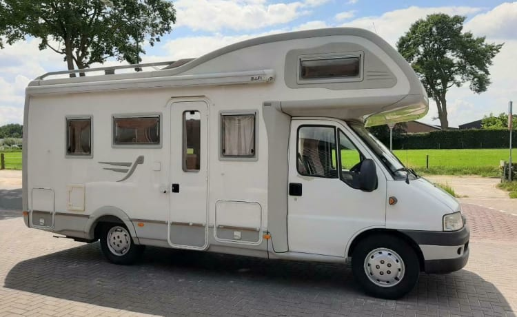 Camper 5 - Fiat Ducato - The ideal family Camper with 2 Bunk beds.
