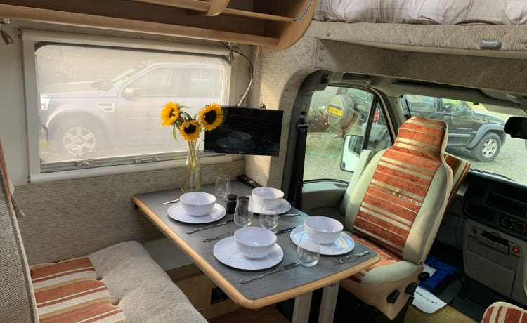Tandy – Family Motorhomes for Hire