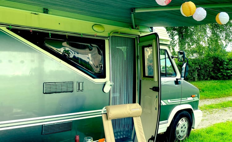 Barry de Camper – Barry de Camper - Fiat Hobby 600 - fully furnished on vacation