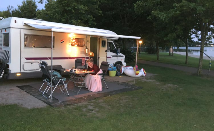Fijne complete camper