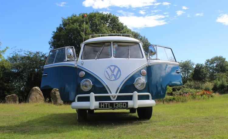 """Alfie The Splitty – Alfie The Splitty - Onze """"Swinging Sixties"""" VW T1 Split Screen !!"""