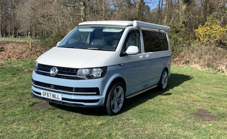 Penelope – Di lusso VW T6 4 posti letto Camper furgonato