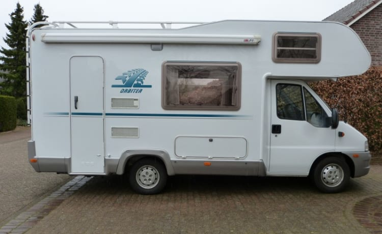 Practical and spacious comfortable camper for rent