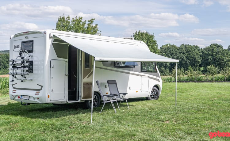 Luigi – Fully equipped modern mobile home for 6 people