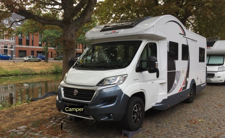 Rent our luxury camper for lots of travel fun.