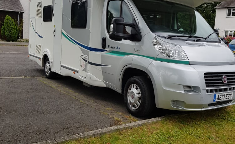 6 berth motorhome with heating