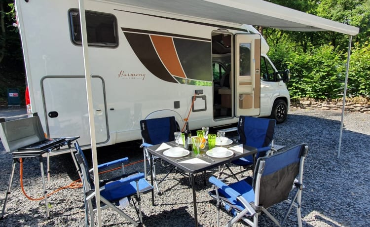 FZE - Our Brand New Burstner 4 berth Executive Motorhome