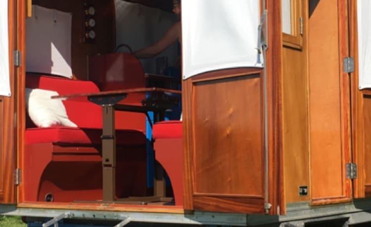 Tatanka – Moderne Pipo wagen voor al uw droombestemmingen.