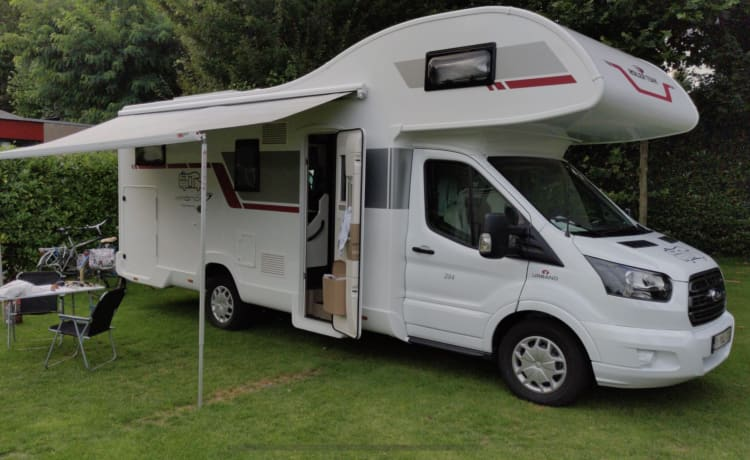 Luxury Mobilhome Ford Kronos Alcove