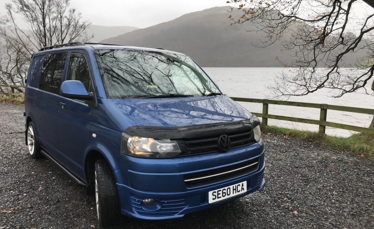 Sweet T5.1 Camper - Not a pop top so good for stealth!