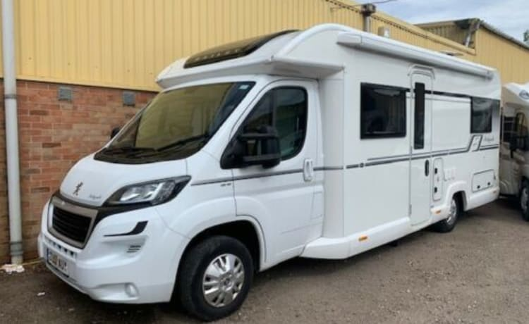 4 Berth Luxury Motorhome
