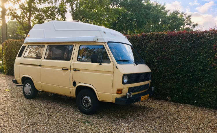 VW T3 with high roof - automatic transmission from 1981