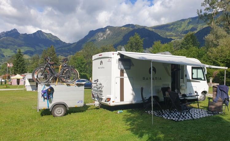 Bavaria – Nuova casa mobile spaziosa per 4 persone