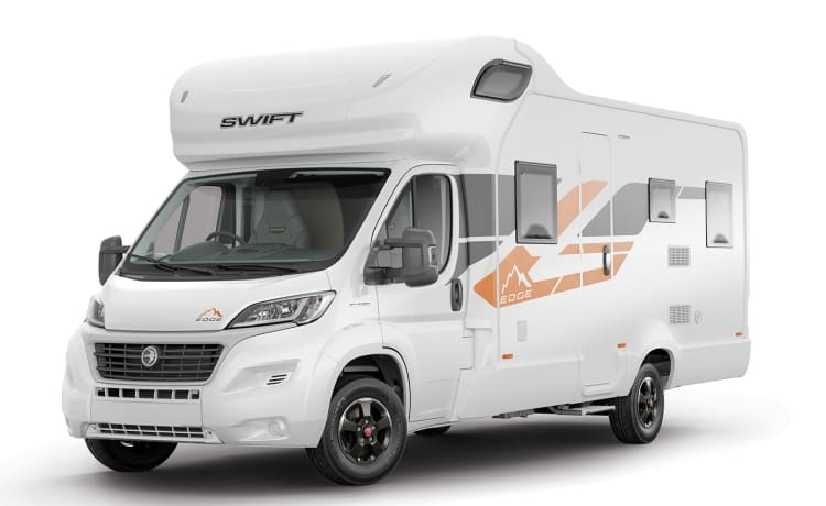 Luxury 6 berth 6 seat motorhome