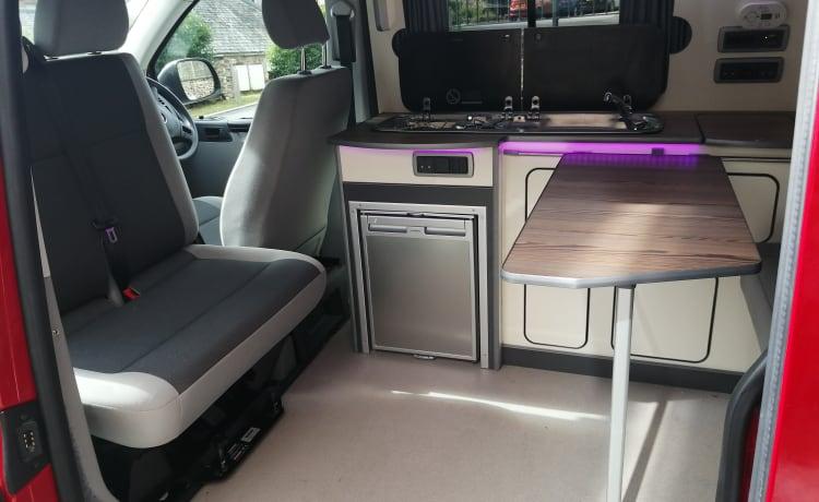 VW Transporter T5 Campervan Cornwall